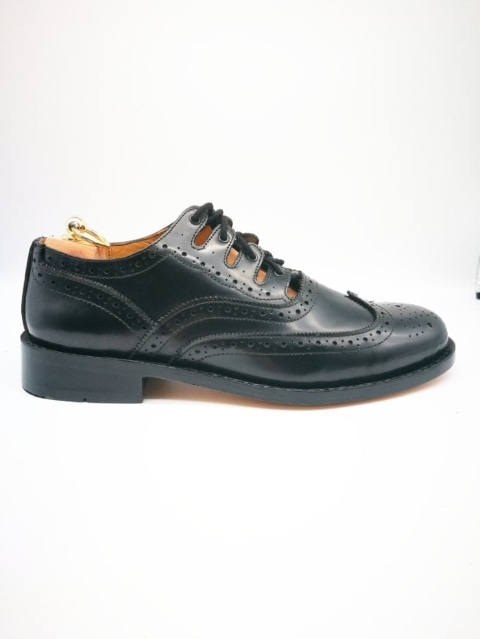 goodyear welted ghillie brogue