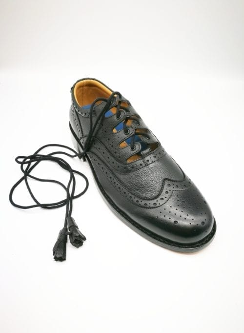 grained ghillie brogue
