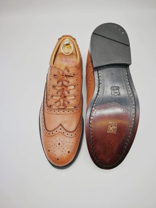 Tan Ghillie Brogue