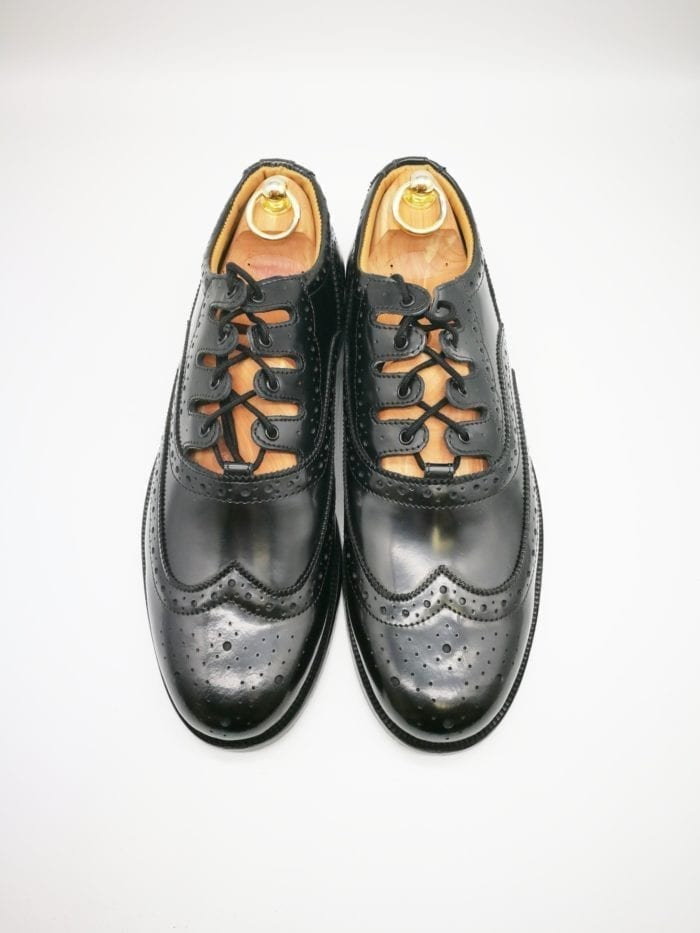 leather sole ghillie brogue