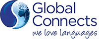 Global Connects – We Love Languages Logo