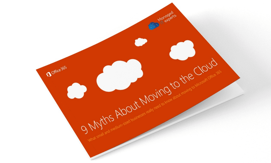 (Ebook) 9 Myths About Moving to the Cloud