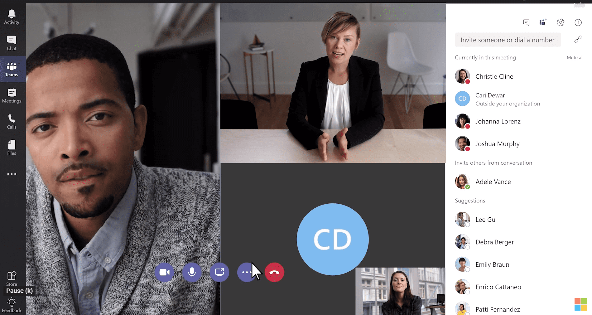 Microsoft Teams: Creating instant remote work meetings in a few clicks