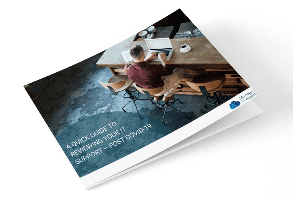 (Free eBook) A quick guide to reviewing your IT support in response to COVID-19