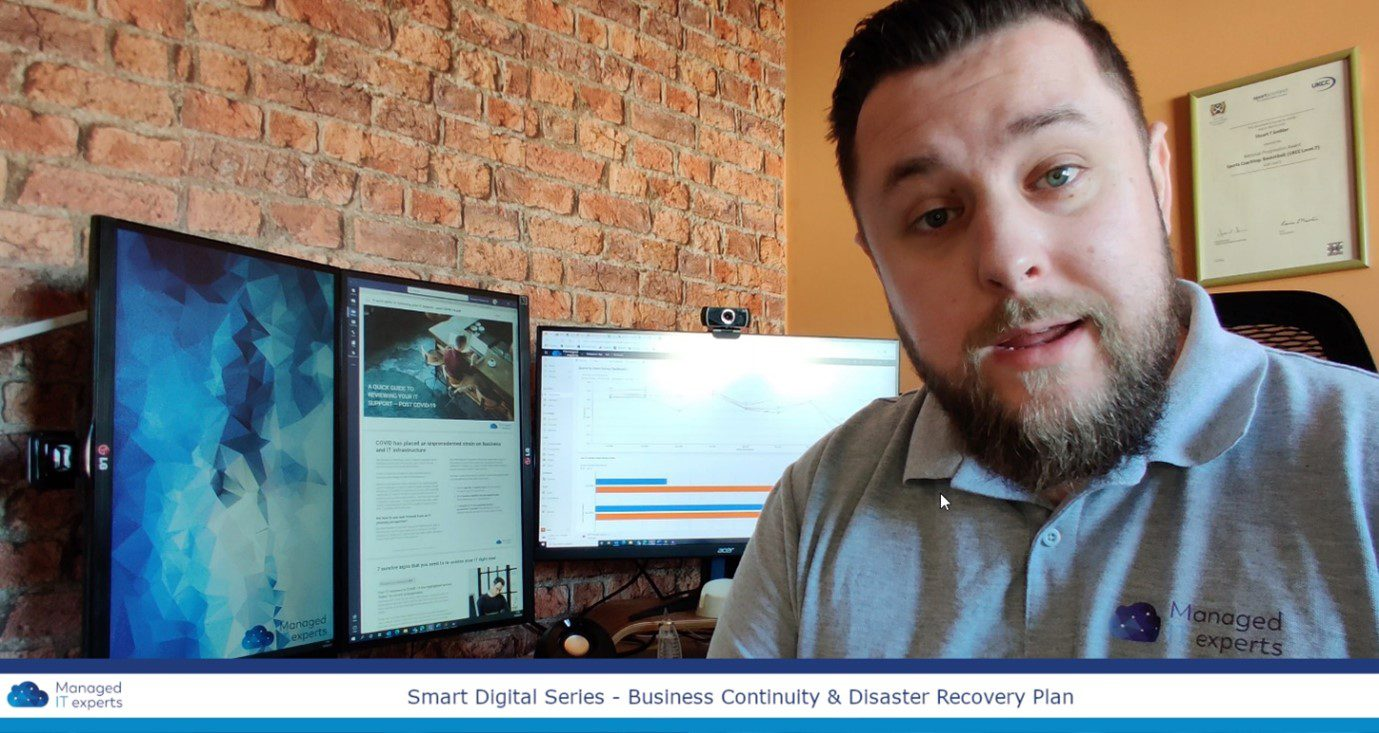 Vlog series: Why having a Business Continuity plan is essential right now