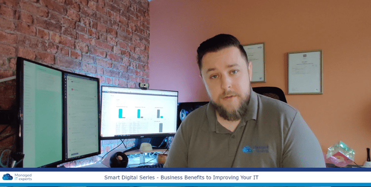 Vlog series: So, what are the actual business benefits of improving IT in your SME?