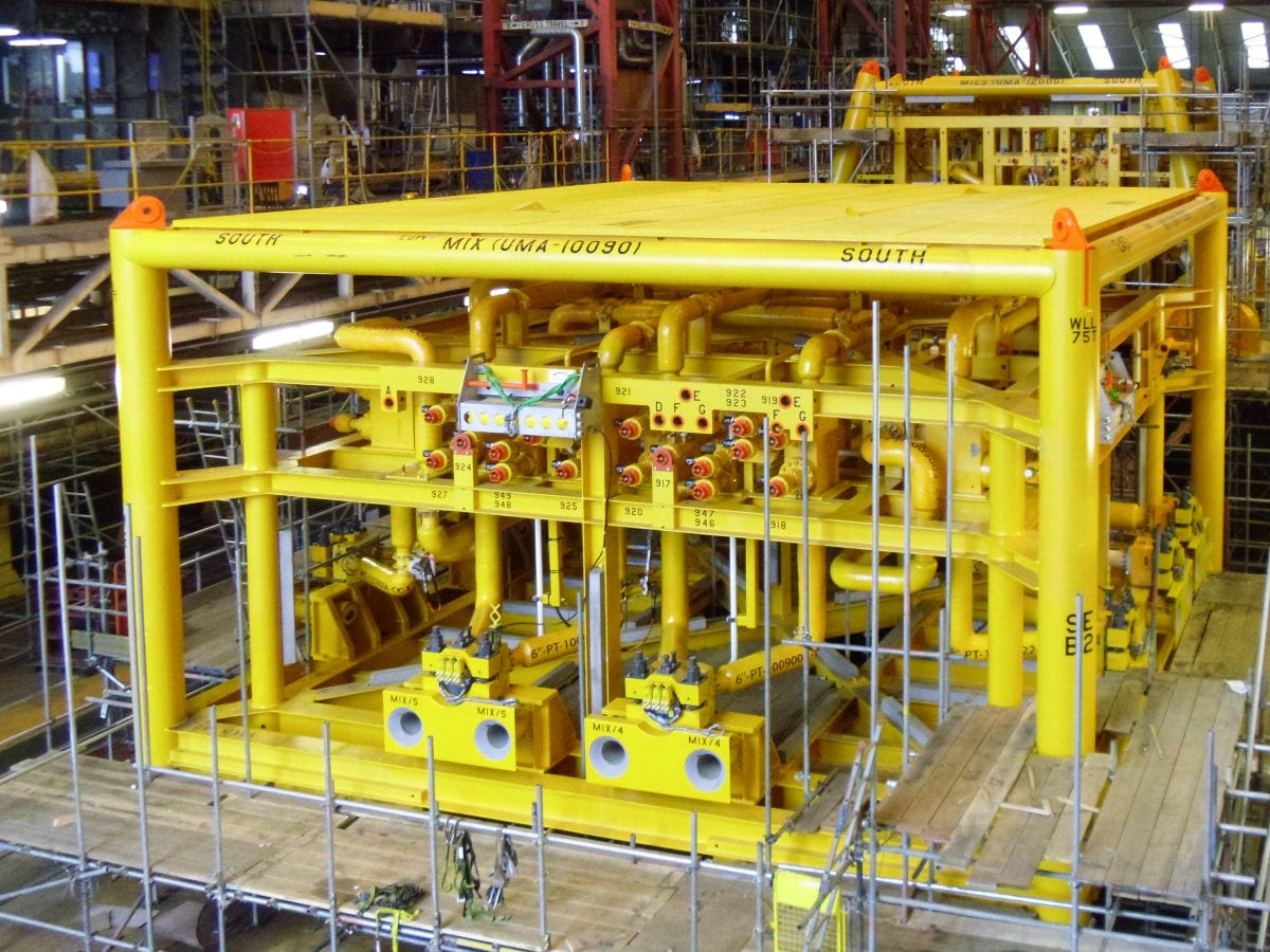 Large Scale Subsea Project
