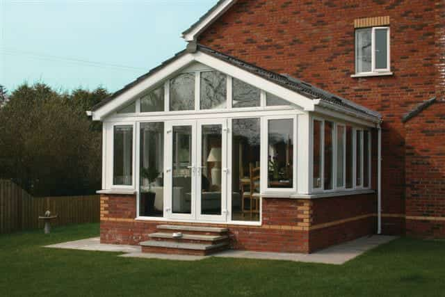 Ideal Conservatories Fully Tiled Warm Roof Sunroom