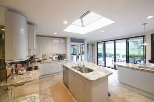Ideal Windows And Conservatories Kitchen Extension Cupola