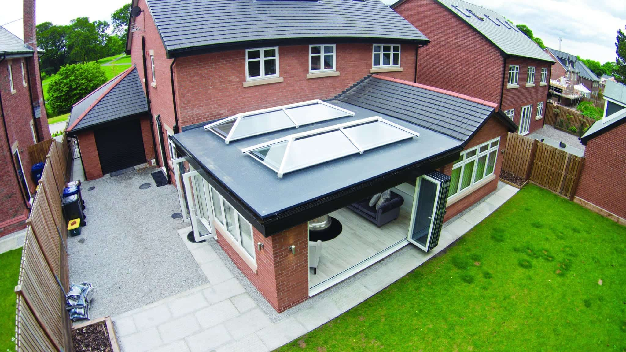 Ideal Windows And Conservatories Extension Cupola Lantern Roof Light