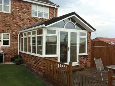 Ideal Windows And Conservatories Sunroom Lightweight Tiled Roof