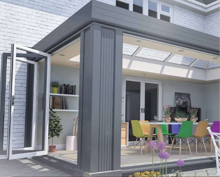Orangery Style Conservatory By Ideal Windows And Conservatories
