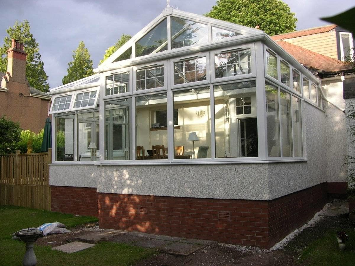 Ideal Windows & Conservatories Gable Front Conservatory