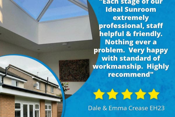Ideal Windows And Conservatories Customer Feedback