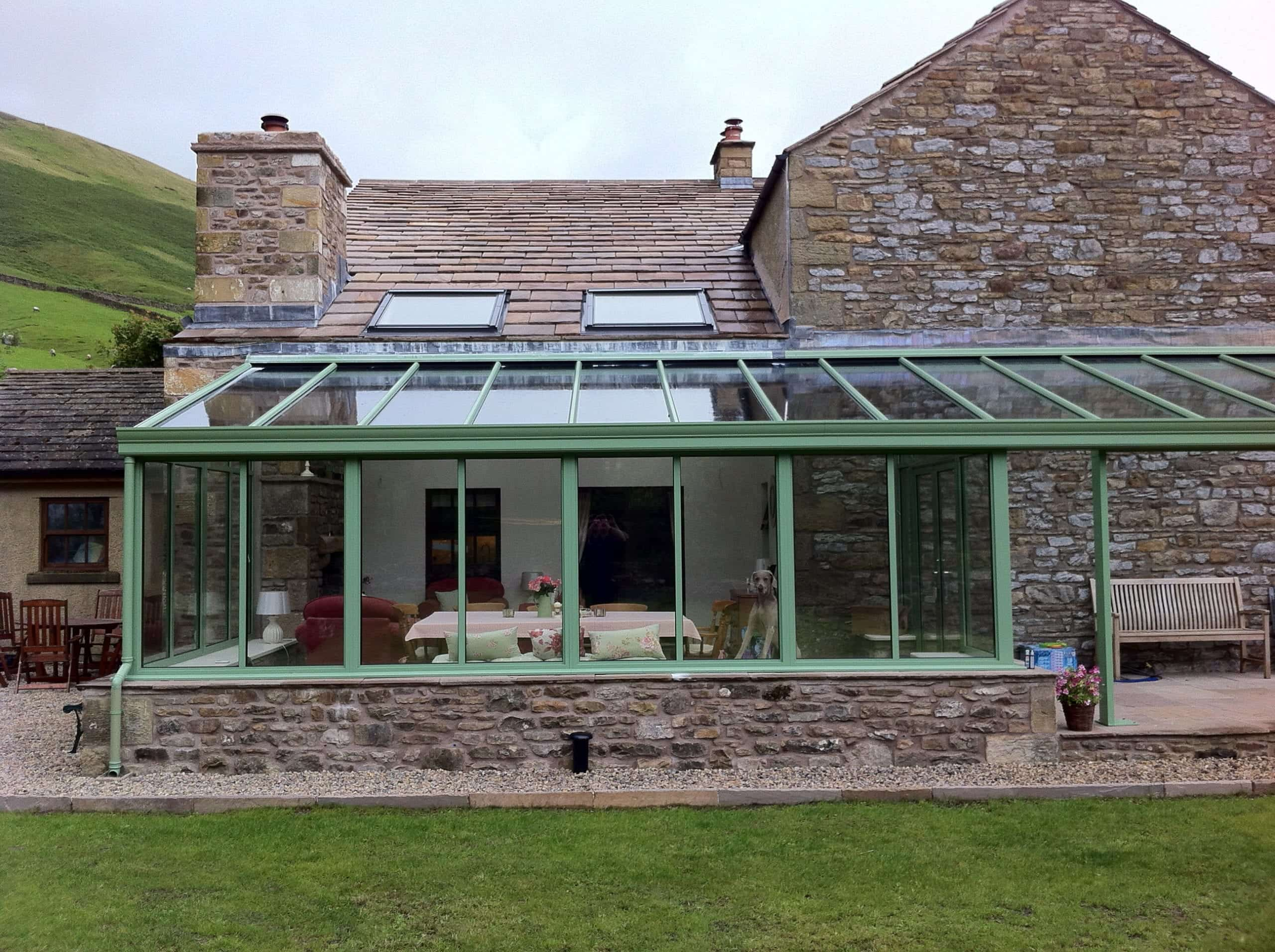 Ideal Windows And Conservatories Green Lean To