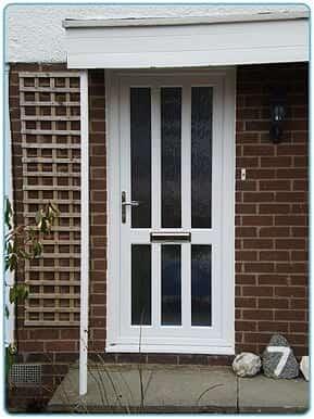 Ideal Windows And Conservatories White PVCu uPVC