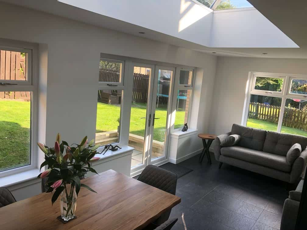 Ideal Windows And Conservatories Orangery Interior Day