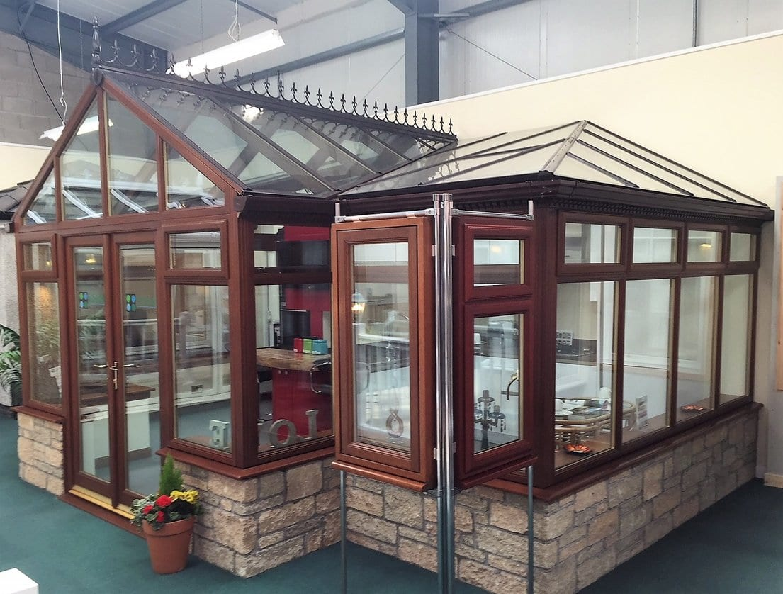 Ideal Windows And Conservatories Hardwood Conservatory