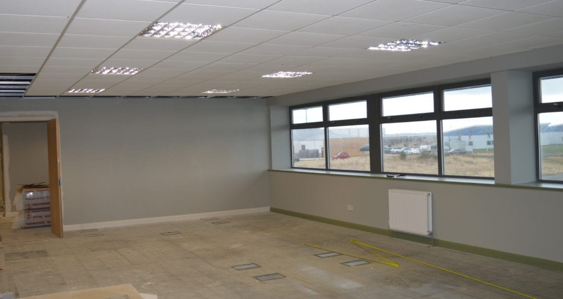 progress photograph of Levenmouth Community Enterprise Centre Refurb