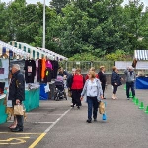 Book stall Levenmouth Together's October Market Methil